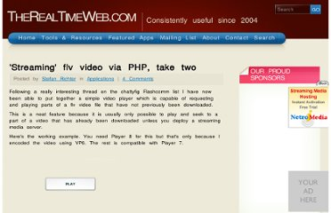 http://www.therealtimeweb.com/index.cfm/2005/11/2/Streaming-flv-video-via-PHP-take-two