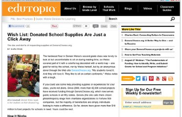 http://www.edutopia.org/donorschoose-school-supplies-donation