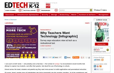 http://www.edtechmagazine.com/k12/article/2012/08/why-teachers-want-technology-infographic