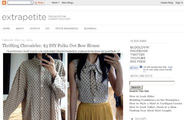 http://www.extrapetite.com/2012/05/thrifting-chronicles-3-diy-bow-dot.html