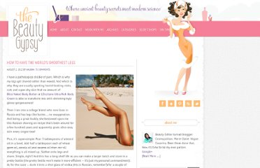 http://thebeautygypsy.com/how-to-have-the-worlds-smoothest-legs/