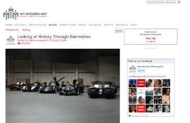 http://www.mymodernmet.com/profiles/blogs/history-through-batmobiles