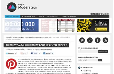 http://www.blogdumoderateur.com/pinterest-interet-entreprise/