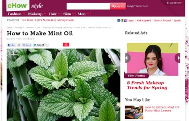 http://www.ehow.com/how_4443818_make-mint-oil.html