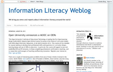 http://information-literacy.blogspot.com/2012/08/open-university-announces-mooc-on-oers.html