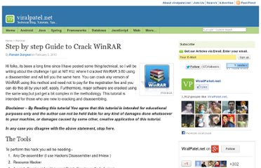 http://viralpatel.net/blogs/step-by-step-guide-to-crack-winrar/