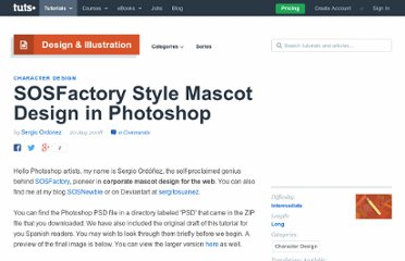 http://psd.tutsplus.com/articles/news/new-plus-tutorial-sosfactory-style-mascot-design-in-photoshop/