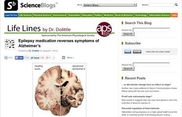 http://scienceblogs.com/lifelines/2012/08/07/epilepsy-medication-reverses-symptoms-of-alzheimers/