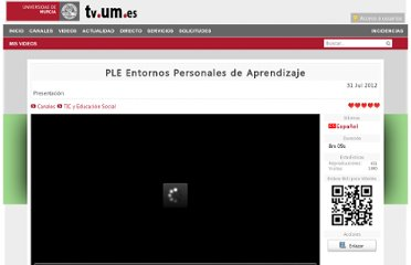 http://tv.um.es/video?id=39601&idioma=es&autoplay