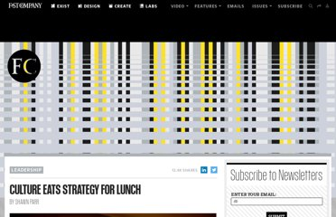 http://www.fastcompany.com/1810674/culture-eats-strategy-lunch