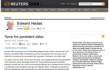 http://blogs.reuters.com/edward-hadas/2012/08/08/tame-the-persistent-elites/