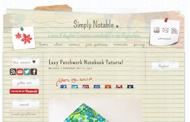 http://www.simplynotable.com/2012/easy-patchwork-notebook-tutorial/