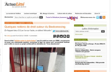 http://www.actualitte.com/legislation/quelques-notions-de-droit-autour-du-bookcrossing-33533.htm