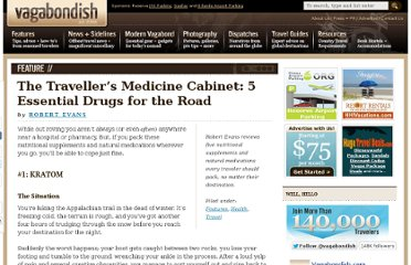 http://www.vagabondish.com/travel-medicine-5-essential-drugs/