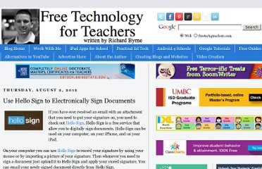 http://www.freetech4teachers.com/2012/08/use-hello-sign-to-electronically-sign.html#.UCU3A6FlTK0