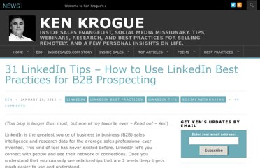 http://www.kenkrogue.com/social-networking/31-linkedin-tips-how-to-use-linkedin-best-practices/