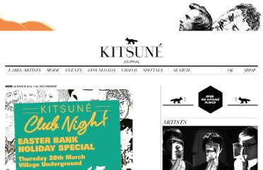 http://www.kitsune.fr/journal/category/videos/