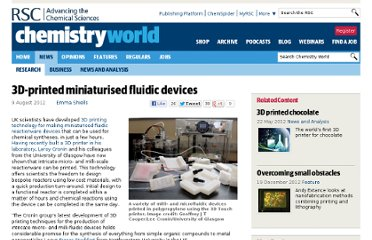 http://www.rsc.org/chemistryworld/2012/08/3d-printed-miniaturised-fluidic-devices