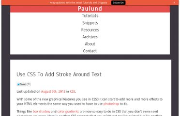 http://www.paulund.co.uk/css-text-stroke