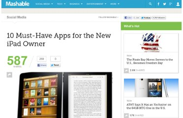 http://mashable.com/2010/05/29/10-must-have-ipad-apps/