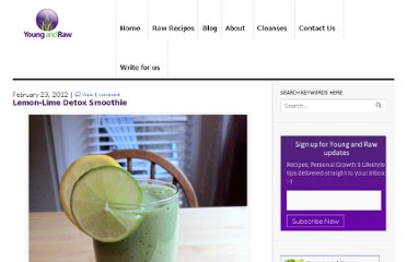http://www.youngandraw.com/lemon-lime-detox-smoothie-recipe/