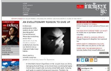 http://moreintelligentlife.com/blog/emily-bobrow/evolutionary-reason-give