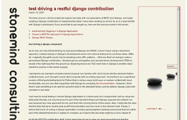http://www.stonemind.net/blog/2007/03/15/test-driving-a-restful-django-contribution/