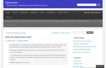 http://egostratum.wordpress.com/2011/04/16/does-the-global-brain-exist/