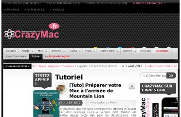 http://www.crazymac.fr/category/tutoriel/