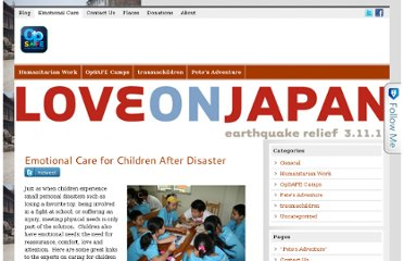 http://opsafeintl.com/emotional-care-for-children-after-disaster/
