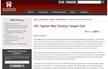 http://www.mikemahler.com/online-library/articles/mma-training/ufc-fighter-mac-danzig-vegan-diet.html