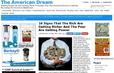 http://endoftheamericandream.com/archives/16-signs-that-the-rich-are-getting-richer-and-the-poor-are-getting-poorer