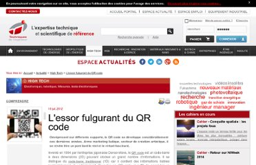 http://www.techniques-ingenieur.fr/actualite/informatique-electronique-telecoms-thematique_193/l-essor-fulgurant-du-qr-code-article_74409/
