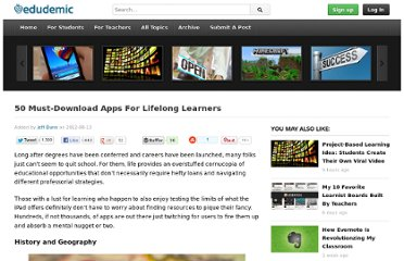 http://edudemic.com/2012/08/50-must-download-apps-for-lifelong-learners/