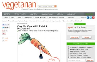 http://www.vegetariantimes.com/article/one-on-one-with-patrick-mcdonnell/