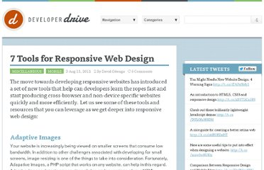 http://www.developerdrive.com/2012/08/7-tools-for-responsive-web-design/