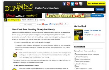http://www.dummies.com/how-to/content/your-first-run-starting-slowly-but-surely.html