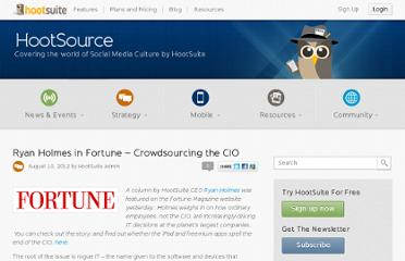 http://blog.hootsuite.com/crowdsourcing-cio/
