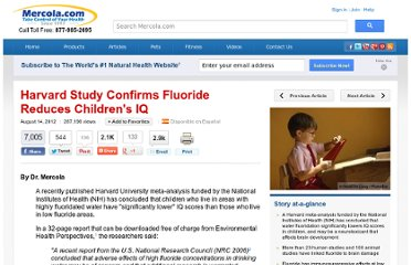 http://articles.mercola.com/sites/articles/archive/2012/08/14/fluoride-effects-in-children.aspx
