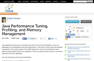 http://java.dzone.com/articles/java-performance-tuning