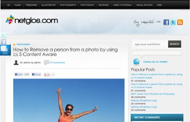 http://www.netglos.com/how-to-remove-a-person-from-a-photo-by-using-cs-5-content-aware/