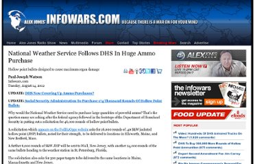 http://www.infowars.com/national-weather-service-follows-dhs-in-huge-ammo-purchase/