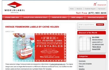 http://blog.worldlabel.com/2012/vintage-framework-labels-by-cathe-holden.html