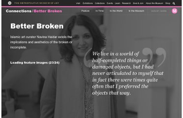http://www.metmuseum.org/connections/better_broken