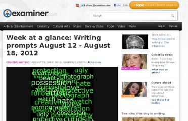http://www.examiner.com/article/week-at-a-glance-writing-prompts-august-12-august-18-2012