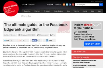 http://econsultancy.com/us/blog/7885-the-ultimate-guide-to-the-facebook-edgerank-algorithm