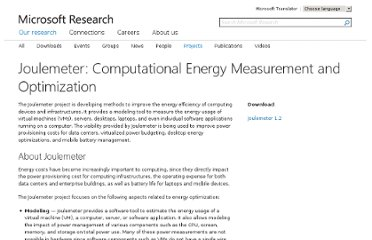 http://research.microsoft.com/en-us/projects/joulemeter/default.aspx