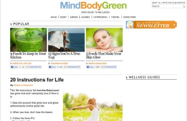 http://www.mindbodygreen.com/0-3776/20-Instructions-for-Life.html