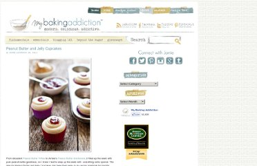 http://www.mybakingaddiction.com/peanut-butter-and-jelly-cupcakes/