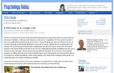 http://www.psychologytoday.com/blog/shrink/201208/8-minutes-longer-life